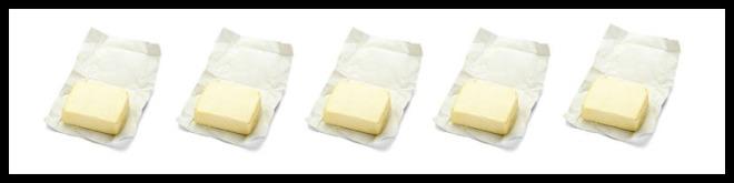 5 butter