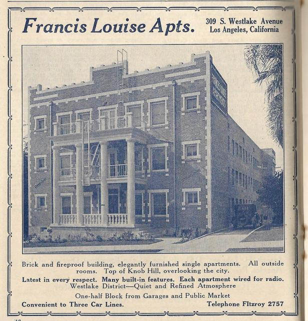 Francis Louise - then