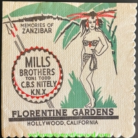 Wiping it Up -  My Collection of Vintage Southern California Napkins